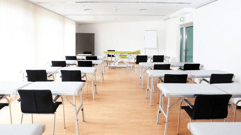 Blick in ein Klassenzimmer in Oberhausen