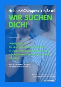 Heil und Chiropraxis in Sasel sucht Osteopath:in